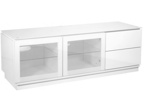 MMT Casino 1500 White Gloss TV Cabinet for TVs up to 65""