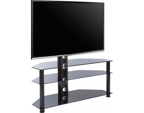 MMT SCB-61 Black Cantilever TV Stand