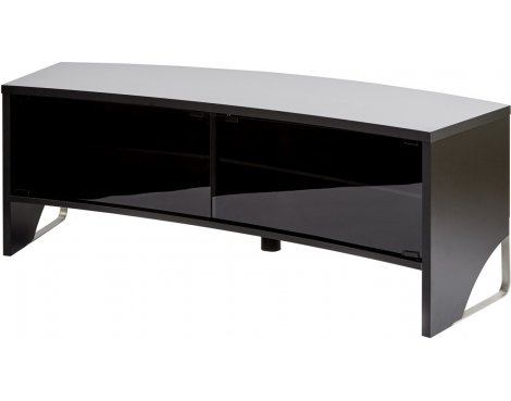 MMT Curve 1500 Black TV Cabinet for TVs up to 65""