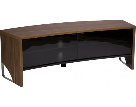 MMT Curve 1500 Walnut TV Cabinet for TVs up to 65""