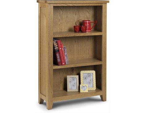 Julian Bowen Astoria Oak Low Bookcase