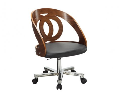 Jual PC606 Walnut Office Desk Chair