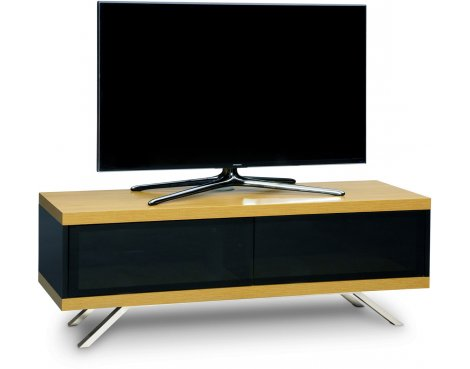 "MDA Designs Tucana Hybrid TV Stand for upto 60"" TVs - Oak"