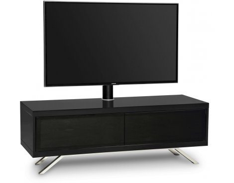 "MDA Designs Tucana Hybrid Cantilever TV Stand for upto 60"" TVs - Black"