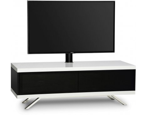 "MDA Designs Tucana Hybrid Cantilever TV Stand for upto 60"" TVs - White"