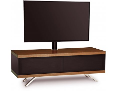 "MDA Designs Tucana Hybrid Cantilever TV Stand for upto 60"" TVs - Walnut"
