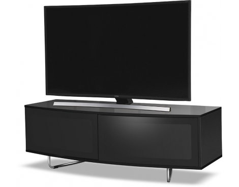 "MDA Designs Caru TV Stand for up to 65"" TVs - Black"