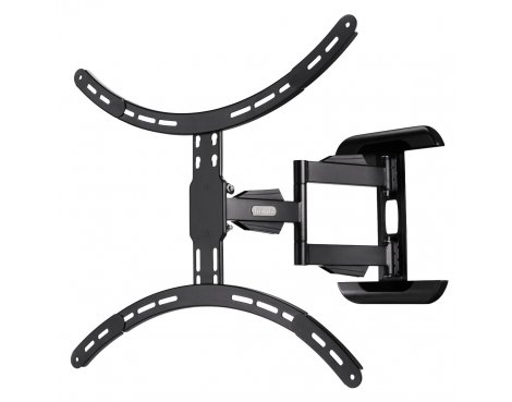 """Hama Full Motion Cantilever Wall Bracket For TVs Up To 37\"""" - 65\"""" - Black"""