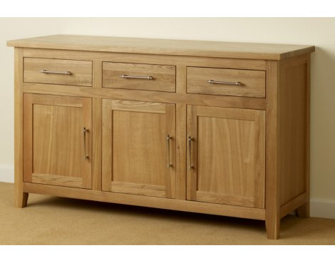 Provincial Home Harold Large Sideboard - Oak