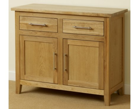 Provincial Home Harold Small Sideboard - Oak
