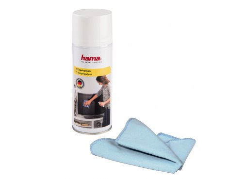 Hama TV Cleaning Foam, 400 ml, cloth included