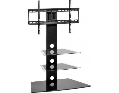 MMT CB55N Black Swivel Cantilever TV Stand