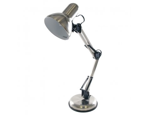 Lloytron 35w \'Style Poise\' Hobby Desk Lamp - Brushed Chrome