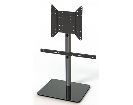 Just Racks TV600SP-BG TV Stand With TV Bracket and Soundbar Mount
