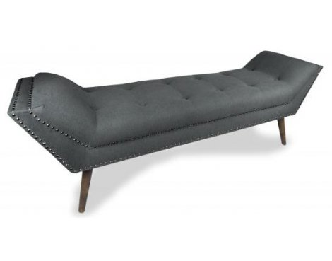 Shankar Montrose Large Chaise - Charcoal