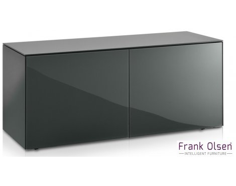 """Frank Olsen INTEL1100GY Grey TV Cabinet For TVs Up To 55\"""" FREE IPHONE CASE"""