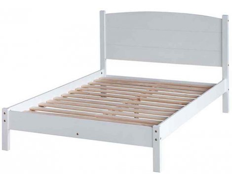 "Core Products Banff BN460LE 4\'6"" Panel Low End Double Bedstead"