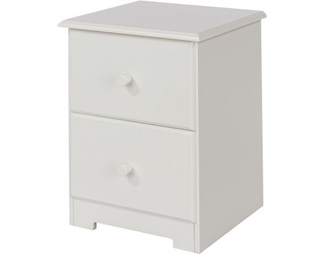 Core Products Banff BN509 2 Drawer Petite Bedside Cabinet