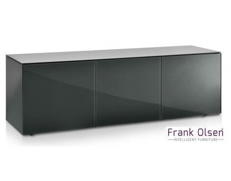 """Frank Olsen INTEL1500GY Grey TV Cabinet For TVs Up To 70\"""" FREE IPHONE CASE"""