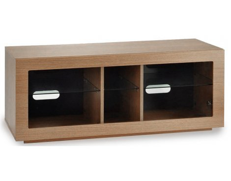 "TNW Murano 1250 Oak TV Stand For Up To 60"" TVs"