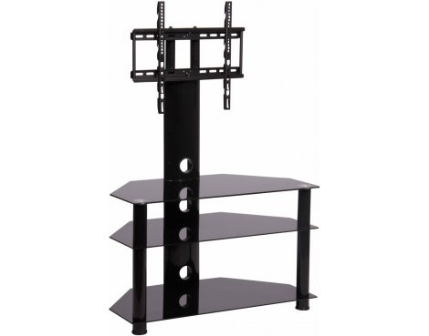 CB32 Black TV Stand With Bracket for up to 50""