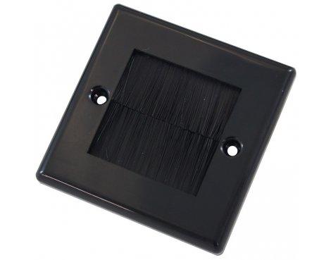Single Outlet Brushplate - Black