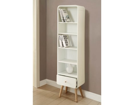 Jual Home Office PC703 Tall Bookcase - White