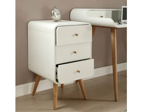 Jual Home Office PC705 3 Drawer Pedestal - White