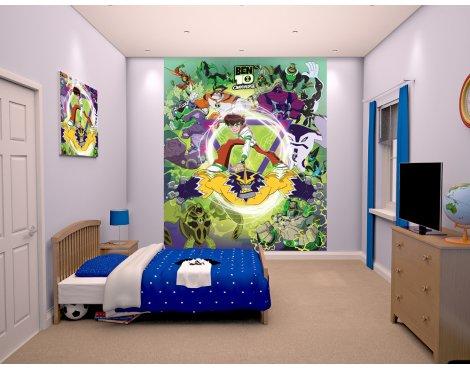 """Walltastic Ben 10 Omniverse 8ft x 6ft 6"""" Mural"""