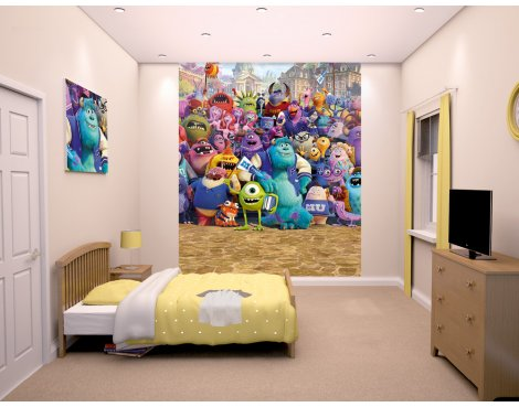 "Walltastic Disney Monsters University 8ft x 6ft 6"" Mural"