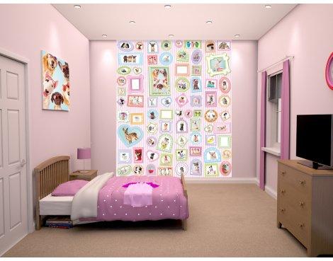 "Walltastic Studio Pets 8ft x 6ft 6"" Mural"