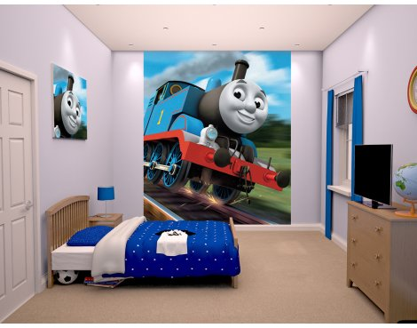"Walltastic Thomas the Tank Engine 8ft x 6ft 6"" Mural"