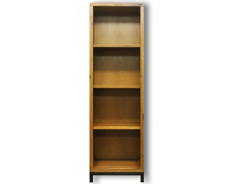 Ultimum Industrial Style Oak Large Bookcase