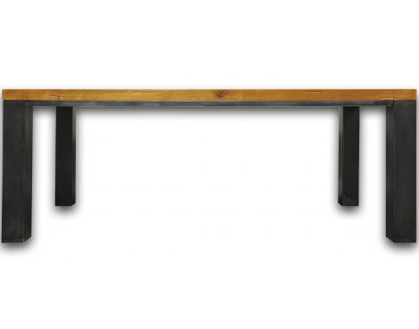 Ultimum Industrial Style Oak 1.8m Table