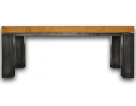 Ultimum Industrial Style Oak Small Coffee Table