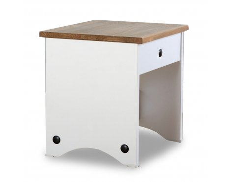 ValuFurniture Corona Dressing Table Stool - White
