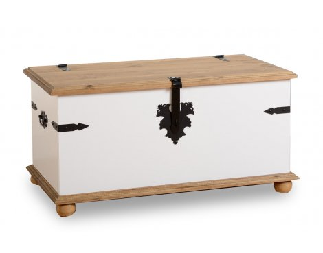 ValuFurniture Corona Single Storage Chest - White