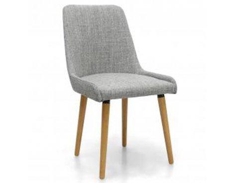 Shankar Pair of Capri Grey Weave Dining Chair
