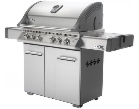 Napoleon LEX605RSBIPSS with Side Burner, Infrared Bottom and Rear Burners