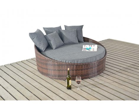 Luxan WGF-1214 Prestige Small Daybed - Brown
