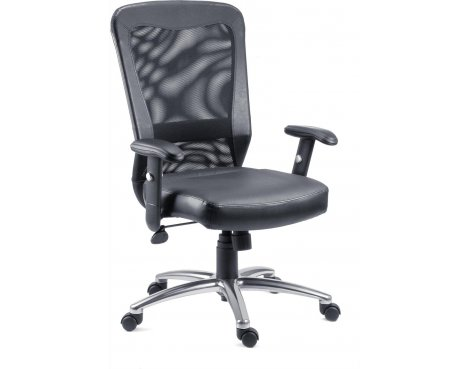 DSK Breeze Executive Mesh Desk Chair - Black