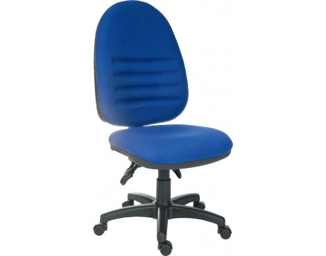 DSK Captain Large Ergonomic Operator Desk Chair - Blue