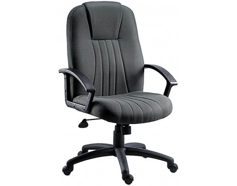 DSK City Fabric Executive Armchair - Charcoal