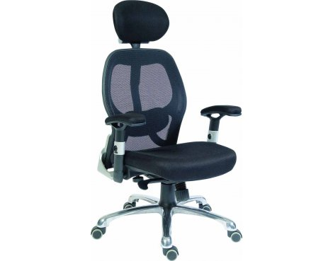 DSK Cobham Luxury Mesh Executive Chair - Black