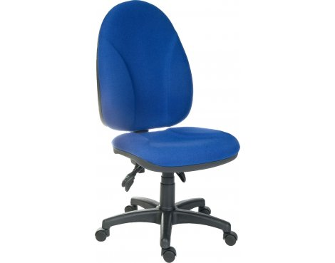 DSK Commander Large Ergonomic Operator Chair - Blue