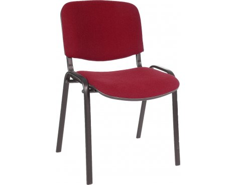 DSK Conference Fabric Padded Seat - Burgundy