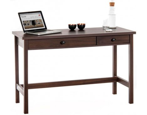 DSK Rum Walnut Home Office Study Desk
