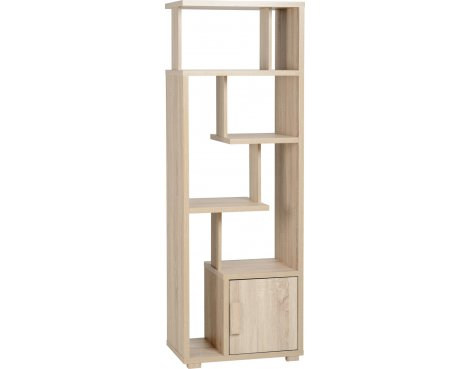 ValuFurniture Cambourne 1 Door Display Unit - Sonoma Oak Effect