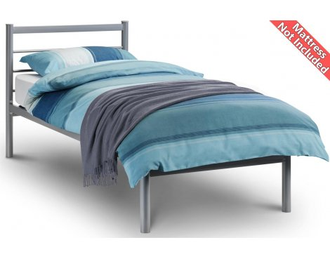 Julian Bowen Alpen Aluminium Bed Frame - Single