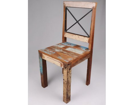 Shankar Pair of New England Reclaimed Chairs